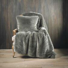 Walton & Co Wild Mink Faux Fur Throw Blanket