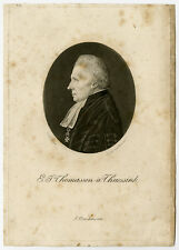 Antique Master Print-PHYSIONOTRACE-THOMASSEN A THUESSINK-Quenedey-Lubbers-1824