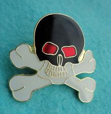 ZP109 Skull Cross Bones Biker Motorcycle Enamel Lapel Pin Badge Pirate