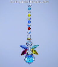 m/w Swarovski Crystal Autism Speaks Colors Angel SunCatcher Lilli Heart Designs
