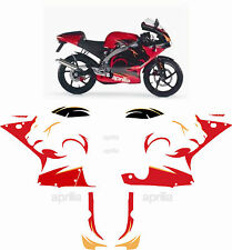 Aprilia RS 50 2005 Stickers Graphics Kit Sized to Fit