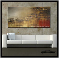 ABSTRACT PAINTING Modern CANVAS WALL ART 60x30 Direct from Artist US ELOISExxx