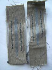 WW2 pattern M40 collar tabs, mint. Fits to M40, M43 and M44 tun.  Mint!!