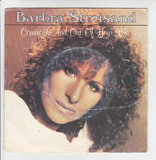 "Barbra STREISAND Vinyl 45T 7"" COMIN' IN AND OUT OF YOUR LIFE -CBS 1789 F Rèduit"