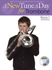 A New Tune A Day for Trombone Music Lesson Book 1 + CD