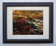 """Group of Seven, A. Y. Jackson """"The Red Maple"""" Limited Edition Framed Print"""