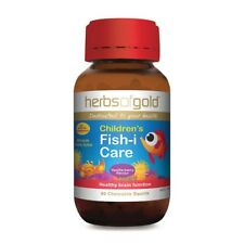 Herbs of Gold CHILDREN'S FISH-I-CARE 60 chewable squirts