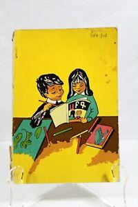 Vintage 1964 Armenian Pictured Alphabet Book Kids Foreign Language NOR AYPENARAN