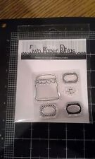 Two paper divas Clear cling stamp - Jelly jar mason