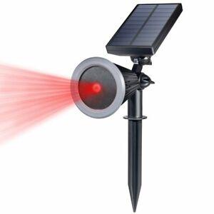 Waterproof Firefly Starry Shower Solar Laser Lights Projector Garden Party Xmas