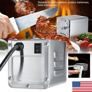 BBQ Motor 50-70kgF Stainless Steel Pig Chicken Grill Electric Rotisserie Roaster