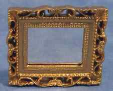 "DOLLS HOUSE 1/12 ""VICTORIAN"" MIRROR WITH  ORNATE GILT FRAME"