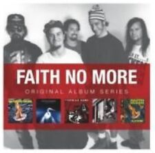 Faith No More Original Album Series Alternative Rock Metal 5 X CD (uk) Set