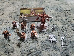 Warhammer Age Of Sigmar - Beast of Chaos Army Lot - minotaurs-bray shaman