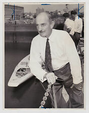 ARCHIE ROBERTSON LIKELY HELMSMAN FOR THE AUSTRALIAN ENTRY ORIGINAL 7X9 PHOTO