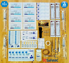 Surgical Suture Kit Medical Saline First Aid Pack