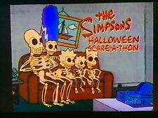 The Simpsons 1993 Halloween Marathon VHS Sold as Blank Treehouse of Horrors