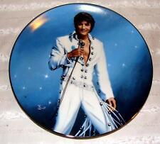 """ELVIS Presley """"King Of LAS VEGAS"""" Bruce Emmett  1991 Delphi Plate #2 6901A 083"""