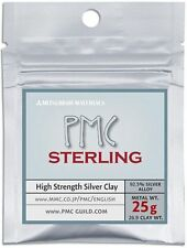 Mitsubishi PMC Sterling Precious Metal Clay Silver 26.9g Art Clay, 25g Metal