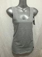 BNWT Sz 10 Womens Chesty Bonds Smart Black/White Stripe Stretch Singlet Top