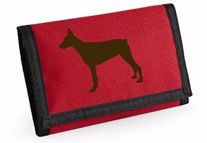 Doberman Pinscher Gift Wallet Rip-Stop Colour Choice Purse Birthday Mothers Day