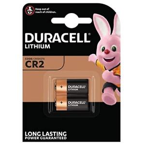 2x Duracell CR2 CR-2 CR 2 3V Ultra Lithium Photo Battery DLCR2 ELCR2 Ex-2030