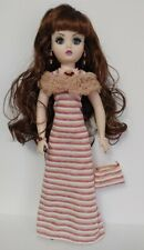 "CISSY DOLL OOAK CLOTHES Stole, Dress, Purse & Jewelry 21"" HM Fashion NO DOLL d4e"