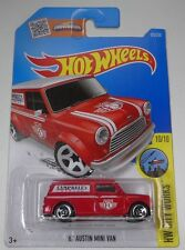 Hot Wheels 2016 HW CITY WORKS 10/10 '67 AUSTIN MINI VAN 175/250 (A+/A)