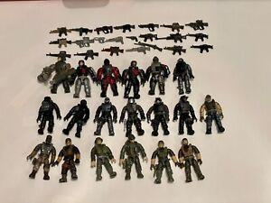 Mega Construx Bloks Call of Duty Figures, Weapons, Parts, etc Lot