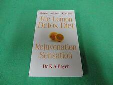 THE LEMON DETOX DIET  BY  DR K A BEYER (SMALL PB BOOK)#