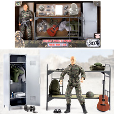World Peacekeepers Military Life 12in Poseable Army Action Toy Figure Play Set