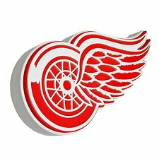 New NHL Detroit Red Wings 3D Fan Foam Logo Holding Wall Sign Made in USA