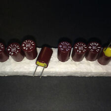 10x NOS ROE EK 22uF/40V ROEDERSTEIN bakelite capacitors for audio