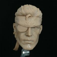Custom hot 1/6 Scale blank Head Sculpt Naked Snake Metal Gear Solid toys