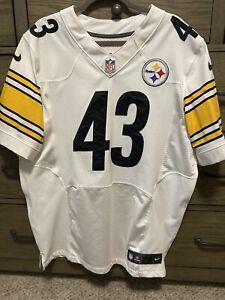 Nike Pittsburgh Steelers Polamalu Elite Football Jersey Size 48