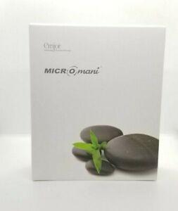 Emjoi MICRO-MANI Manicure Tool Kit Nail Polish Battery Powered w/16 Rollers gray