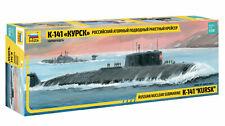 """Zvezda 9007 Russian Nuclear Submarine K-141 """"Kursk"""" 1/350"""