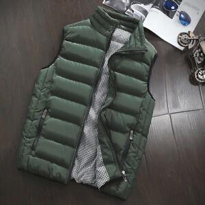 Men's Autumn Winter Warm Vest Sleeveless Jacket Army Waistcoat Brand Clothing w