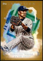 Masahiro Tanaka 2019 Topps Inception 5x7 Gold #74 /10 Yankees