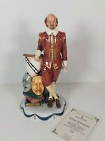"""Rare Royal Doulton Limited Edition """" Shakespeare"""" Figurine HN3633, Appr.30cm"""
