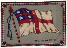 VINTAGE Antique TOBACCO FELT Felts PREMIUM Flannel NEW ZEALAND FLAG Kiwi NZ