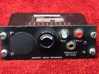 FAIRCHILD A-151-B COCKPIT VOICE RECORDER CONTROL UNIT P/N 93-A151-30 LORAL
