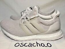 88c6301874fb6 Men s Adidas Ultra Boost 4.0 Trainers Sneakers Chalk Pearl Size UK 8  (BB6177)