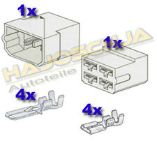 Set Connector Housing 4-fach Cable Splice Plug Car Tractor Motorcycle Truck Boat