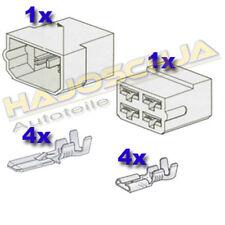 Set Steckgehäuse  4-fach Kabelverbinder Stecker  Auto Traktor  Motorrad LKW Boot