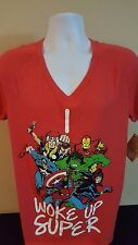 Marvel Comics Graphic Shirt Sleep Wear Unisex Size XL 14-18 NWT Free Shipping