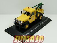 SER1 1/43 SALVAT Vehiculos Servicios IKA Baqueano jeep willys Dépanneuse Club