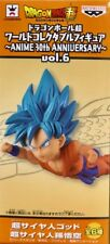 Dragon Ball WCF World Collectible Figure 30th Vol 6 Goku Super Saiyan God Blue