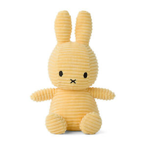 OFFICIAL MIFFY CORDUROY BUTTERCREAM SOFT TOY PLUSH DICK BRUNA COLLECTABLE