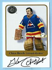 CHICO RESCH 2001 FLEER GREATS OF THE GAME SIGNATURE AUTOGRAPH AUTO